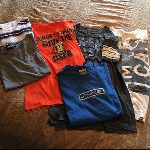 6 Men's Short Sleeve Shirt Bundle